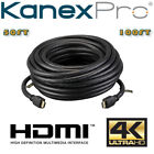 KanexPro Gold Plated HDMI Cable Builtin with Signal Booster Equalizer 50FT 100FT