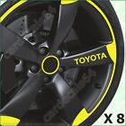 8 X Toyota Wheel Door Handle Decal Sticker Graphics Emblem Logo Design#1 A