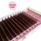 NAGARAKU® 16rows Top Quality Brown Eyelash Extension Mink Eyebrow Extensions