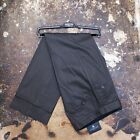 New Lanvin Grey Cotton Trousers With Adjustable Waist Tabs Size 46 BNWT RRP £325