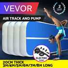 Air Track 10/13/16/20/26/33Ft Airtrack Inflatable Tumbling Gymnastics Mat w/Pump image