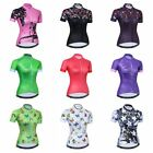 Cycling Jersey Women 2018 New Summer Bike Half Sleeve Bicycle Clothing Tops