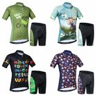 WEIMOSTAR Cycling Jersey Kids Bicycle Short Clothing Children's Bike Sets S-2XL