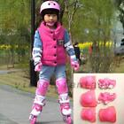 6pcs Skating Protective Gear Sets Elbow Knee Pads Bike Skateboard For Kid US