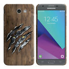 For Samsung Galaxy J3 Emerge J327 2017 Slim HARD Back Case Phone Cover + Pen