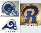 Los Angeles Rams Iron On Patch Choice of Style Free Ship in Envelope Mail $7.99 USD on eBay