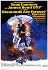 65749 Diamonds Are Forever Movie ean Connery Wall Print Poster UK £13.95 GBP on eBay
