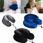 Travel - Travel Neck Pillow Memory Foam Cushion Soft U Shape Support Headrest CarCJ