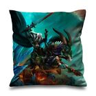 """WORLD OF WARCRAFT GAME Throw Pillow Case Cushion 16"""" 18"""" 20"""" inch Zippered Cover"""