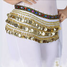 Women Chain Gold New Scarf Gypsy Coins Belly Band Hip Belt Costume Waist Dance