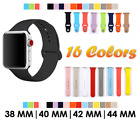New Apple Watch Replacement Rubber/ Silicone Band For 38 , 40, 42 & 44mm Watches