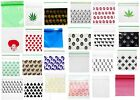 Small Plastic Poly Grip Self Seal Resealable Mini Bags Jewellery Baggies Baggys