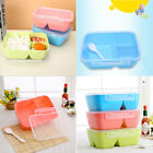 3 Colors Portable Bento Lunch Box Storage Picnic Microwave Boxes Food Container