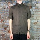 O'neill Casual Short Sleeve Slim Fit shirt New in - Brown - Size: S,M