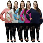 LADIES PLUS SIZE ITALIAN BELL SLEEVE TUNIC TOP FITS SIZE UK 16 18 20