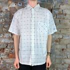 O'neill Casual Short Sleeve Slim Fit Shirt New in - White - Size: M
