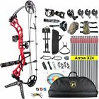 15-70LB COMPOUND BOW & ARROW HUNTING TARGET ARCHERY CNC 19-30
