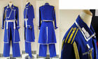 FullMetal Alchemist Cosplay Roy Mustang Uniform Costume Custom Any Size