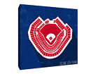 Texas Rangers - Globe Life Park - Seating Map - Gallery Wrapped Canvas on Ebay