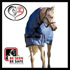 LOVE MY HORSE 3'3 - 4'9 Soft Mesh Summer Combo Rug No Flies No UV - Blue