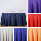 "12 pcs Wholesale Lot 132"" ROUND POLYESTER TABLECLOTHS Wedding Party Decorations"