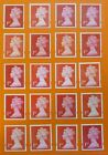 100 Genuine 1st Class Stamps Unfranked Off Paper WITH ORIGINAL GUM Self-Adhesive <br/> SAME DAY POSTAGE **THE BEST QUALITY ON EBAY** 500+ SOLD