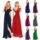 New Chiffon Bridesmaid Formal Gown Ball Party Cocktail Evening long Prom Dresses