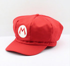 Super Mario Caps Adults Classic Movie Hat Red Luigi Green Computer Games New