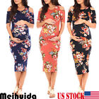 USA Pregnant Women Long Dresses Maternity Gown Photography Photo Shoot Clothes