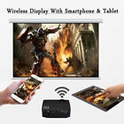 4K HD 1080P Home Theater LED Android 6.0 Wifi Projector HDMI + 84/100inch Screen