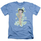 Betty Boop with Bouquet of FLOWERS Licensed Adult Heather T-Shirt All Sizes $33.03 CAD on eBay