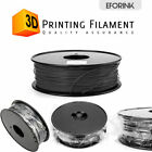 US 3D Printer Filament PLA - 1.75mm -1KG 2.2lb - Various Colours Available