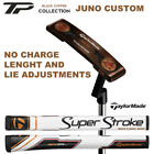 New 2018 TaylorMade TP Black Copper Juno Putter No Charge Length and Lie Changes