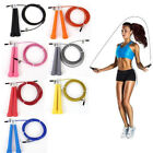 UK SELLER Steel Skipping Rope Speed Fitness Exercise Jumping Workout Adjustable