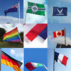 90*150cm Large World flags Olympics Sport National Supporters Fans country flag