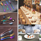 Внешний вид - stainless  Cutlery rainbow rose gold black  wedding Tableware set silverware