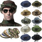 Bucket Hat Boonie Hunting Fishing Outdoor Cap Wide Brim Military Unisex SunCamo.