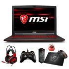 "MSI GL63 15.6"" IPS Full HD Core i7-8750H i5-8300H GTX 1050Ti 1050 Gaming Laptop"