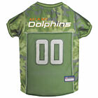 Pets First Miami Dolphins Camo Jersey