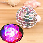 Rainbow LED Squishy Mesh Grape Ball Squeeze Toy Stress Relief Vent Kid Toys Gift on eBay