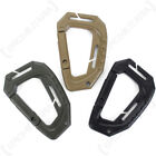 Tactical MOLLE Carabiner - 3 COLOURS - Clip Hook Army Military Cadet Outdoor NEW