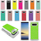 "For Samsung Galaxy Note 8 N950 6.3"" Color Sparkle HYBRID Bling Case Cover"