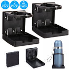 Adjustable Folding Cup Drink Bottle Holder Stand Mount Car Auto Boat Fishing Box