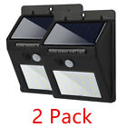 Solar Powered Motion Sensor  20 LED Outdoor Garden Security Waterproof Lights.