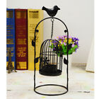 Hanging/Tabletop Metal Tea Light Candle Holder Lantern Garden Lawn Ornament