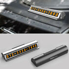 Car Temporary Parking Card Drawer Style Hidden Phone Number Parking Plate