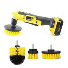 Power Scrub Drill Brush for Cleaning Carpet Sofa Wooden Pop Grout Car Set Pack 3
