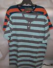 MENS ARIZONA CASUAL 100% COTTON 2 BUTTONS SHORT SLEEVE SHIRTS  NEW WITH TAGS