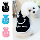 Fashionable Dog Puppy Tee Shirts Pet Jumpsuit Cozy Apparel Machine Washable