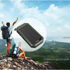 Portable ES981 Solar Power Charger Camping 8000mah LED Lamp Mobile Power Bank RA